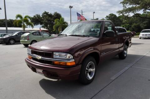 2001 Chevrolet S-10 for sale at STEPANEK'S AUTO SALES & SERVICE INC. in Vero Beach FL