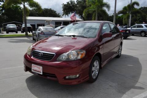 2008 Toyota Corolla for sale at STEPANEK'S AUTO SALES & SERVICE INC. in Vero Beach FL
