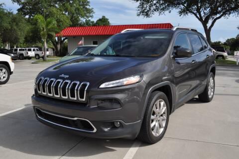 2014 Jeep Cherokee for sale at STEPANEK'S AUTO SALES & SERVICE INC. in Vero Beach FL