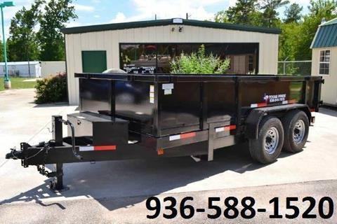 2017 TEXAS PRIDE 7' by 14' DUMP TRAILER for sale in Conroe, TX