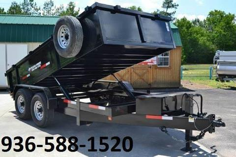2018 TEXAS PRIDE 7' by 12' DUMP TRAILER for sale in Conroe TX