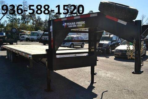 2017 TEXAS PRIDE 32' Gooseneck for sale in Conroe, TX
