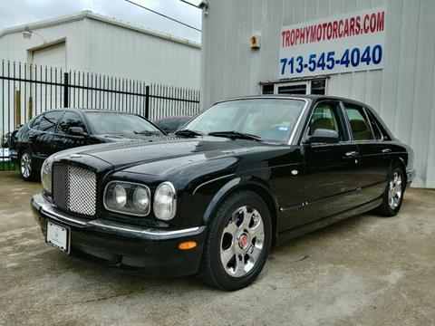 2001 Bentley Arnage for sale in Houston, TX
