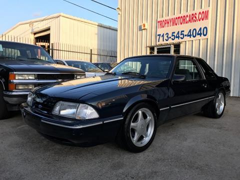 1990 Ford Mustang for sale in Houston, TX