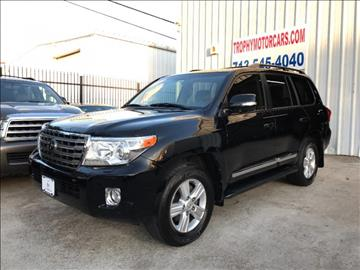 2014 Toyota Land Cruiser for sale in Houston, TX