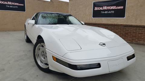 1991 Chevrolet Corvette for sale at SoCal Motors in Los Alamitos CA