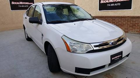 2008 Ford Focus for sale at SoCal Motors in Huntington Beach CA
