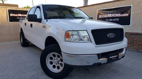 2005 Ford F-150 for sale at SoCal Motors in Huntington Beach CA