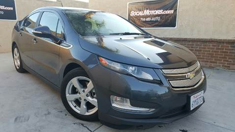2013 Chevrolet Volt for sale at SoCal Motors in Huntington Beach CA