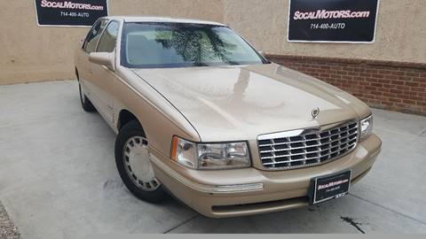 1998 Cadillac DeVille for sale at SoCal Motors in Huntington Beach CA