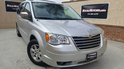 2008 Chrysler Town and Country for sale at SoCal Motors in Huntington Beach CA