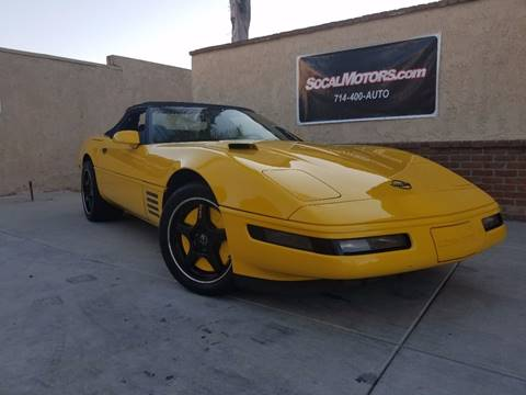1993 Chevrolet Corvette for sale at SoCal Motors in Los Alamitos CA
