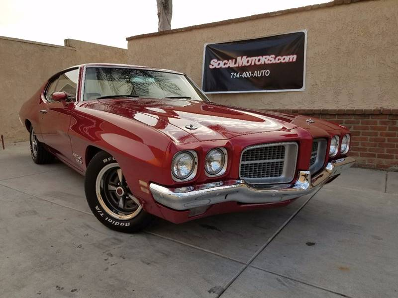 1971 Pontiac GT 37 for sale at SoCal Motors in Los Alamitos CA