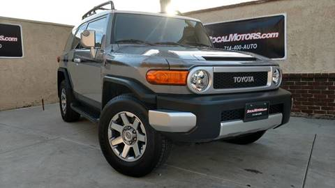 2014 Toyota FJ Cruiser for sale at SoCal Motors in Los Alamitos CA