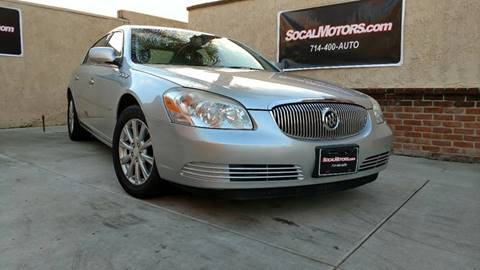 2009 Buick Lucerne for sale at SoCal Motors in Huntington Beach CA