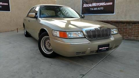 1999 Mercury Grand Marquis for sale at SoCal Motors in Huntington Beach CA