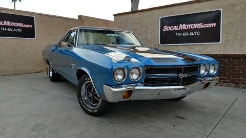1970 Chevrolet El Camino for sale at SoCal Motors in Los Alamitos CA