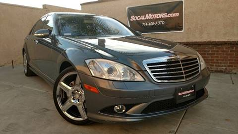 2009 Mercedes-Benz S-Class for sale at SoCal Motors in Huntington Beach CA