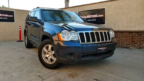 2009 Jeep Grand Cherokee for sale at SoCal Motors in Huntington Beach CA