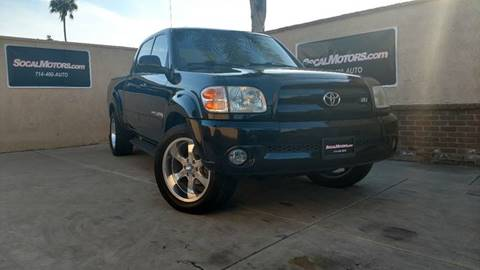 2004 Toyota Tundra for sale at SoCal Motors in Huntington Beach CA
