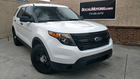 2014 Ford Explorer for sale at SoCal Motors in Huntington Beach CA