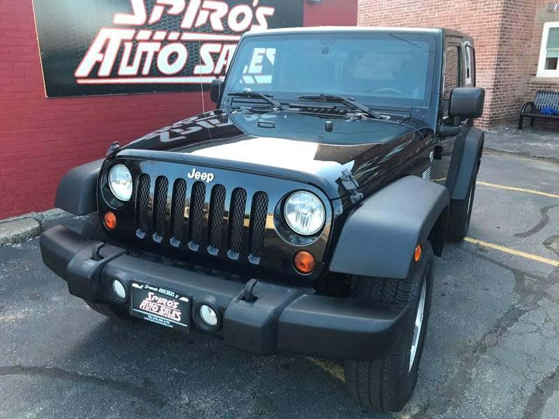 2011 Jeep Wrangler Sport In Salem MA - Spiros Auto Sales