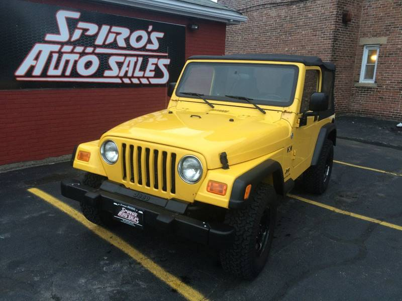 2006 Jeep Wrangler For Sale At Spiros Auto Sales In Salem MA