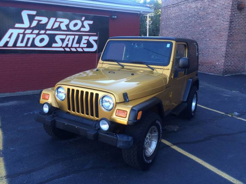 Amazing 2003 Jeep Wrangler For Sale At Spiros Auto Sales In Salem MA