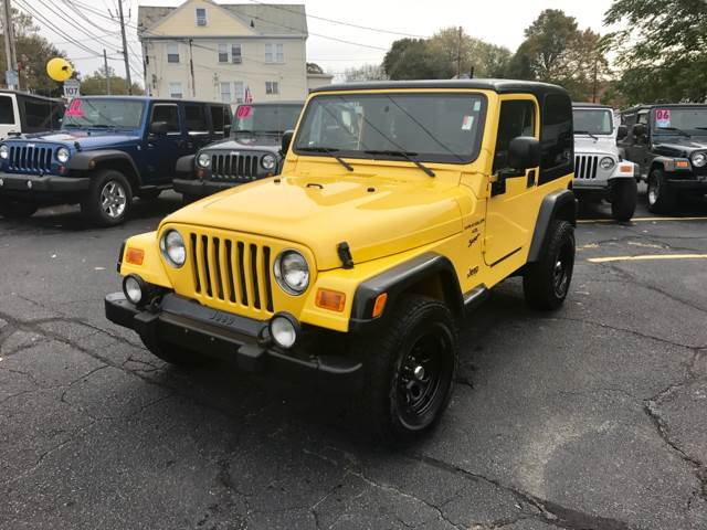 2003 Jeep Wrangler For Sale At Spiros Auto Sales In Salem MA