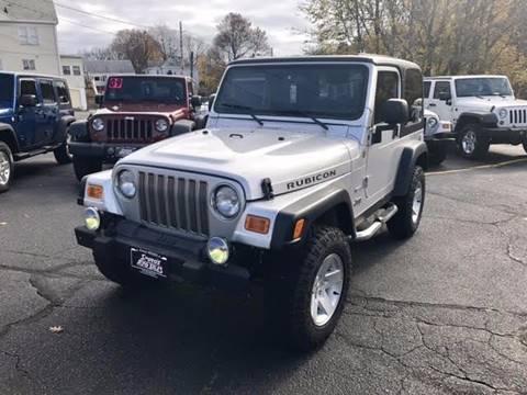 2004 Jeep Wrangler for sale in Salem, MA
