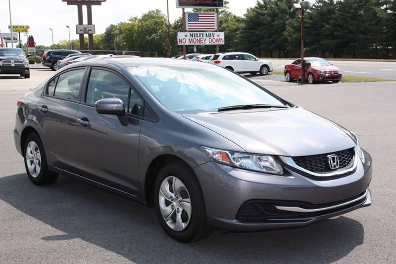 2014 Honda Civic LX 4dr Sedan CVT - Clarksville TN