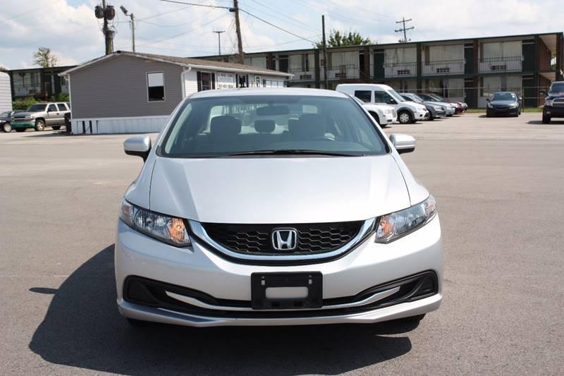 2014 Honda Civic LX 4dr Sedan 5M - Clarksville TN