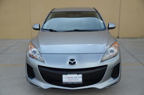 2013 Mazda MAZDA3 for sale at College Cars Texas in Houston TX