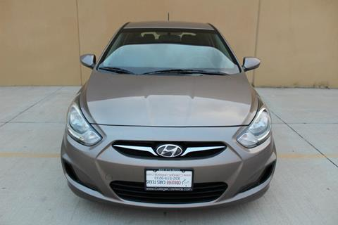 2014 Hyundai Accent for sale at College Cars Texas in Houston TX