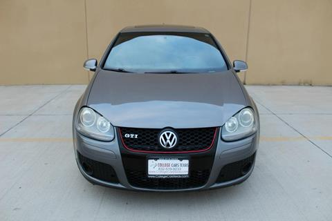 2008 Volkswagen GTI for sale at College Cars Texas in Houston TX