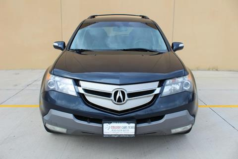 2009 Acura MDX for sale at College Cars Texas in Houston TX