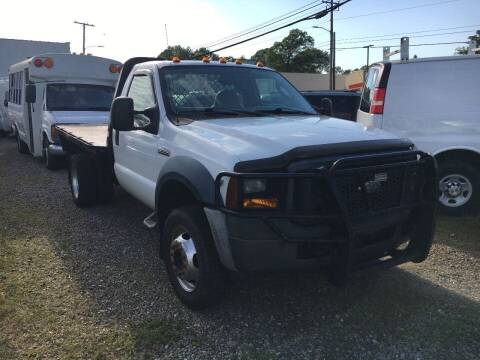 2007 Ford F-550 for sale at Church Street Auto Sales in Martinsville VA