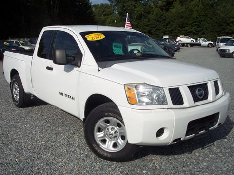 2007 Nissan Titan for sale in Ashland VA