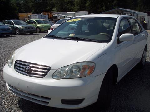 2003 Toyota Corolla for sale in Ashland VA