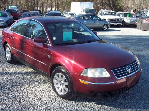 2003 Volkswagen Passat for sale in Ashland VA