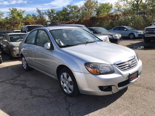 2009 Kia Spectra for sale at Platinum Sales LLC in Hasbrouck Heights NJ