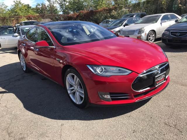 2013 Tesla Model S for sale at Platinum Sales LLC in Hasbrouck Heights NJ