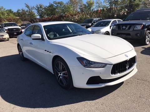 2015 Maserati Ghibli for sale at Platinum Sales LLC in Hasbrouck Heights NJ