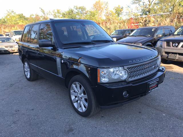 2008 Land Rover Range Rover for sale at Platinum Sales LLC in Hasbrouck Heights NJ