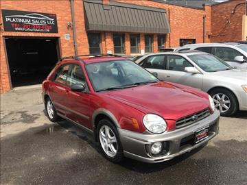 2002 Subaru Impreza for sale in Hasbrouck Heights, NJ