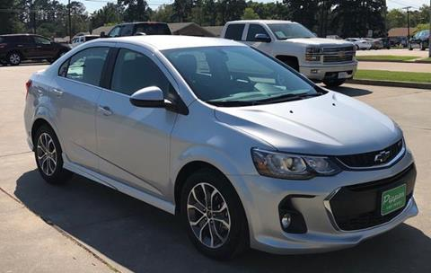 2018 Chevrolet Sonic for sale in Carthage, TX