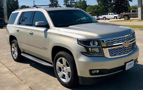 2015 Chevrolet Tahoe for sale in Carthage TX