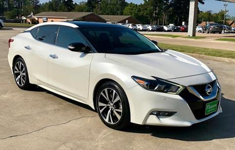 2016 Nissan Maxima for sale in Carthage TX