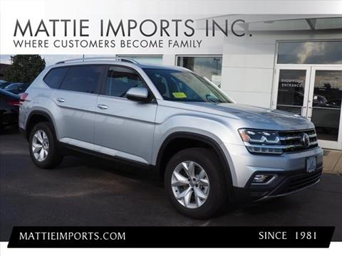 2018 Volkswagen Atlas for sale in Fall River, MA