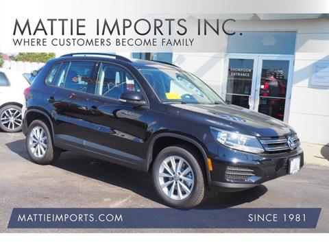 2017 Volkswagen Tiguan Limited for sale in Fall River, MA